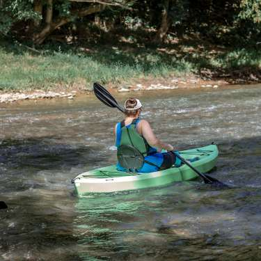 kayaking on the red river