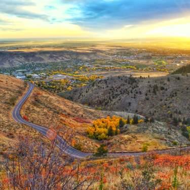 Fall in Golden Overlook