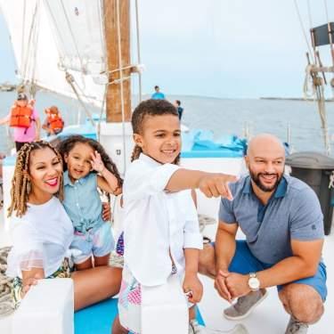 Biloxi Schooner Family by Kerri Paul