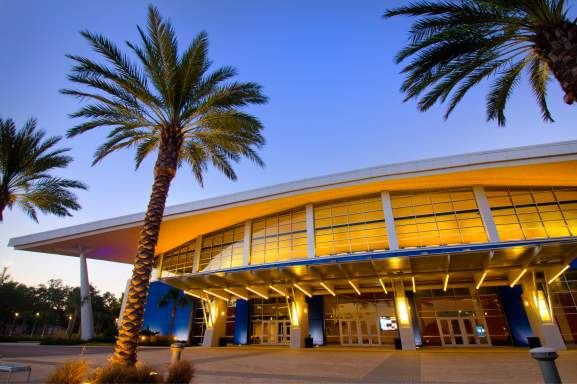 Mississippi Coast Convention Center Night
