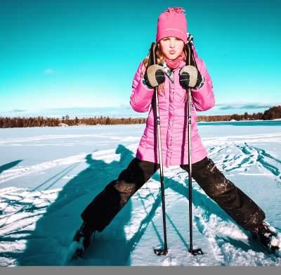 Kids Winter Skiing