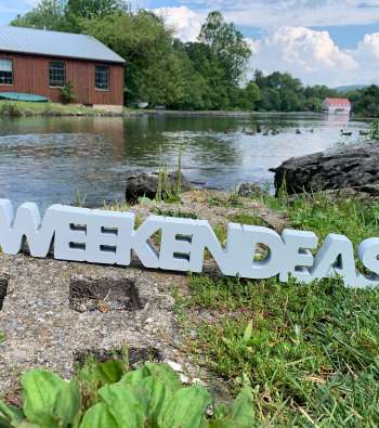 WeekendEasy sign at Children's Lake