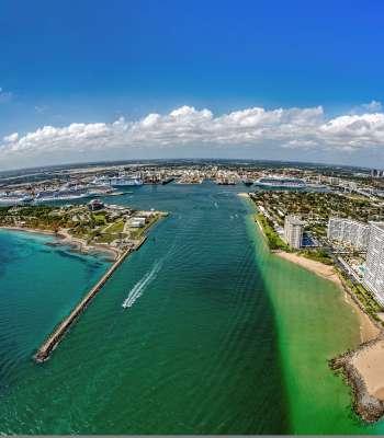 Port Everglades channel
