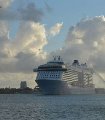 Odyssey of the Seas Arrival