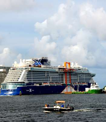 Celebrity Edge is the first cruise in the US to sailing since March 2020