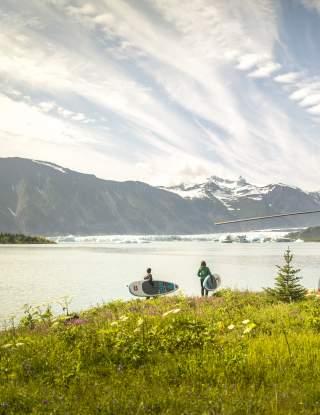 Heli Paddleboarding