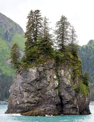 A colleciton of rocks in spire cove