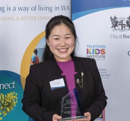 Giving West ASPIRE Award 2019 winner Ms Thea Kurniawan