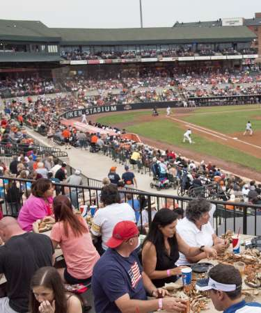Aberdeen Ironbirds Food