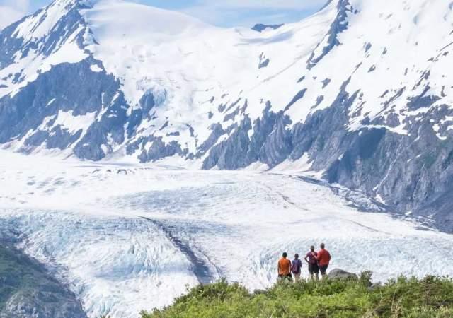 Portage Glacier And Nearby Glaciers Visit Anchorage
