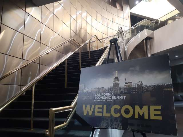 Stairway Welcome Sign