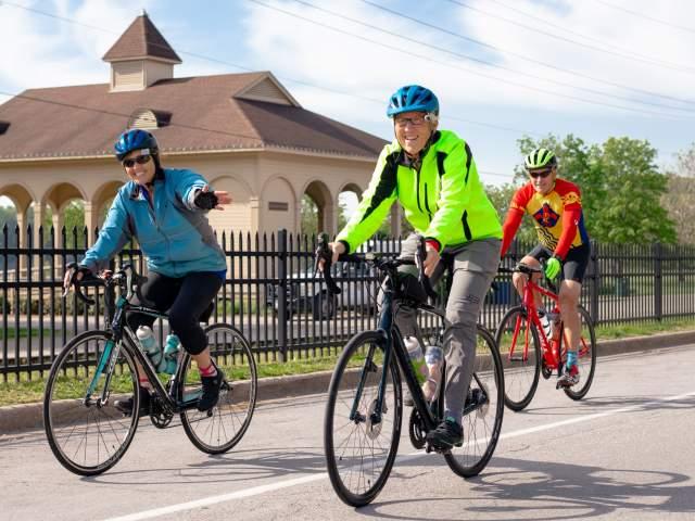 Cycling Riverside Drive 2021