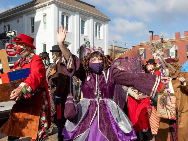 Christmas Traditions Parade Sugarplum