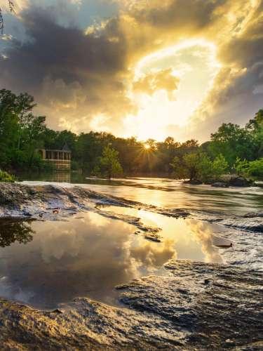 Amerson River Park Sunset