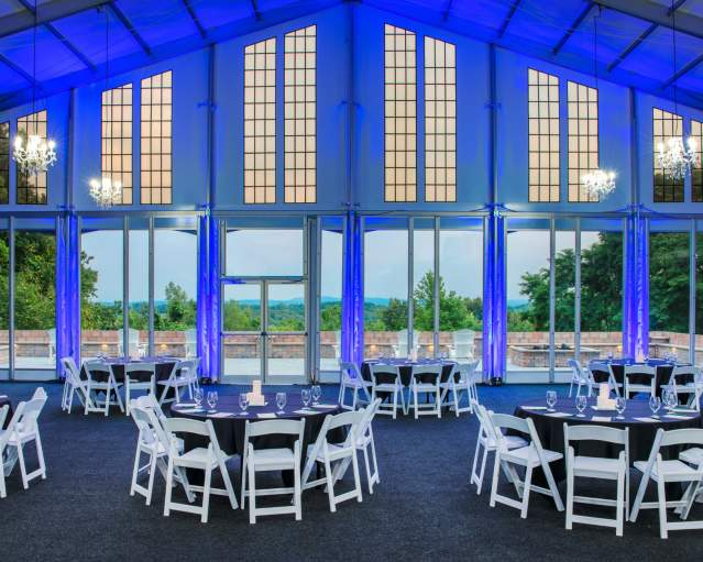Event Tent at Woodcliff Hotel