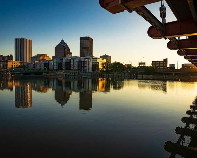 Sunrise Over Rochester, NY