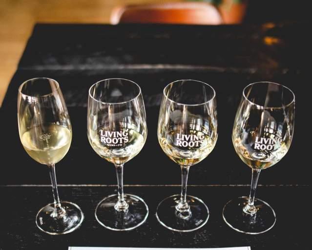 Living Roots Wine Flight Tasting