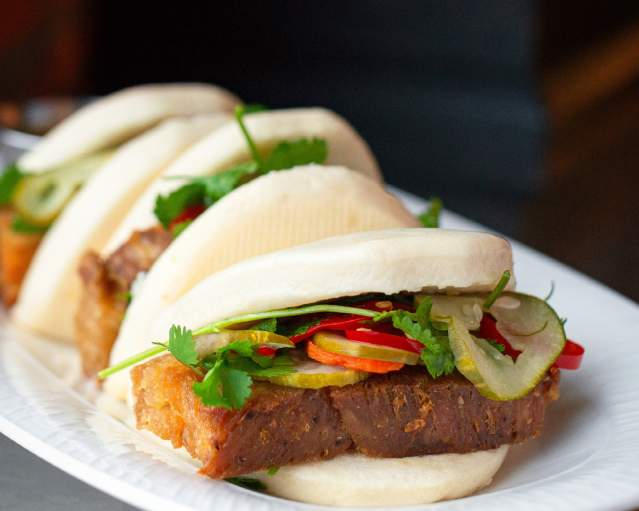 Nosh - Pork Belly Steamed Buns