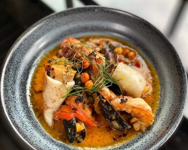 Velvet Belly - Seafood Dish