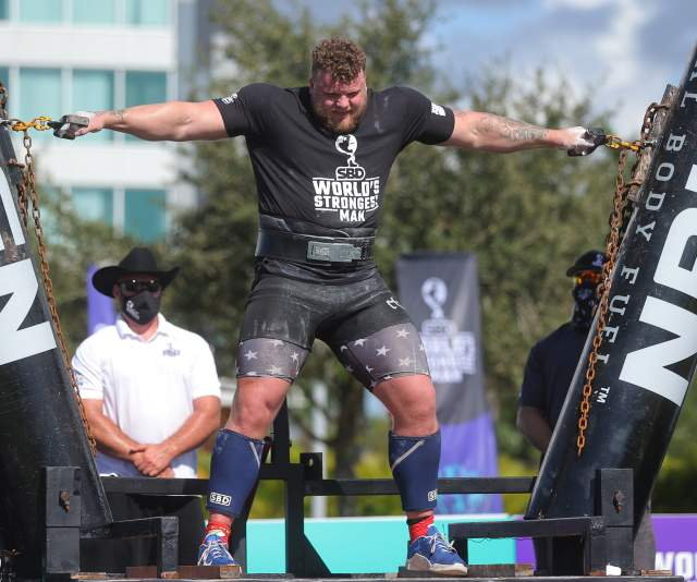 World's Strongest Man Tom Stoltman