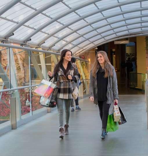 Shopping Bellevue Collection Sky Bridge