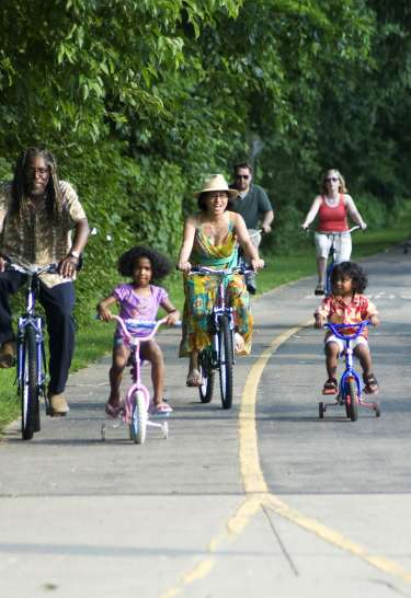 Family Cycling on the Little Miami Scenic Trail