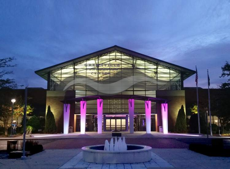 Convention Center Front Night