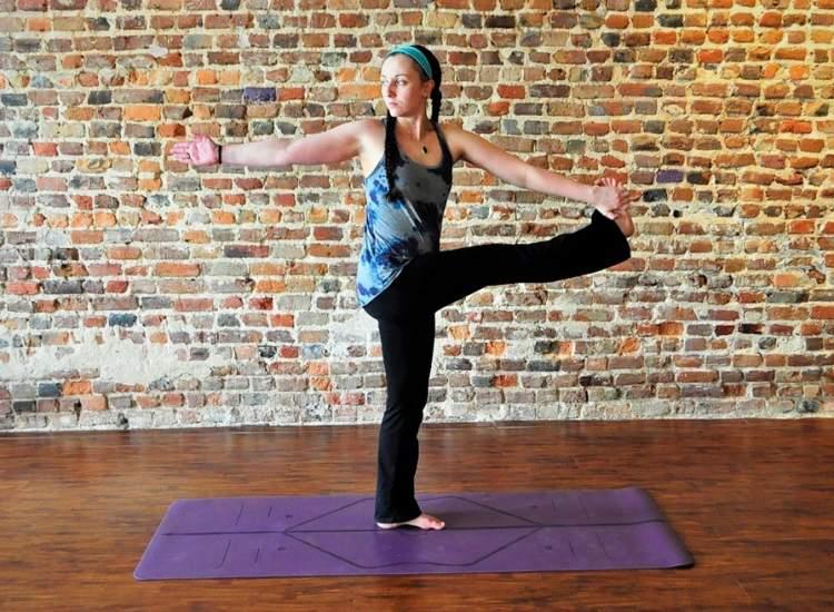 Purple Blossom Yoga