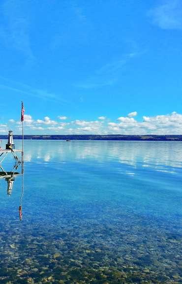 Dock on Cayuga Lake