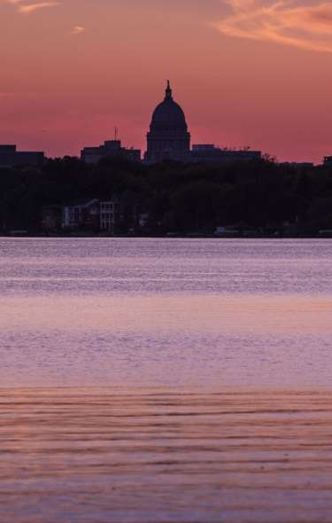 Lake Monona at Sunset