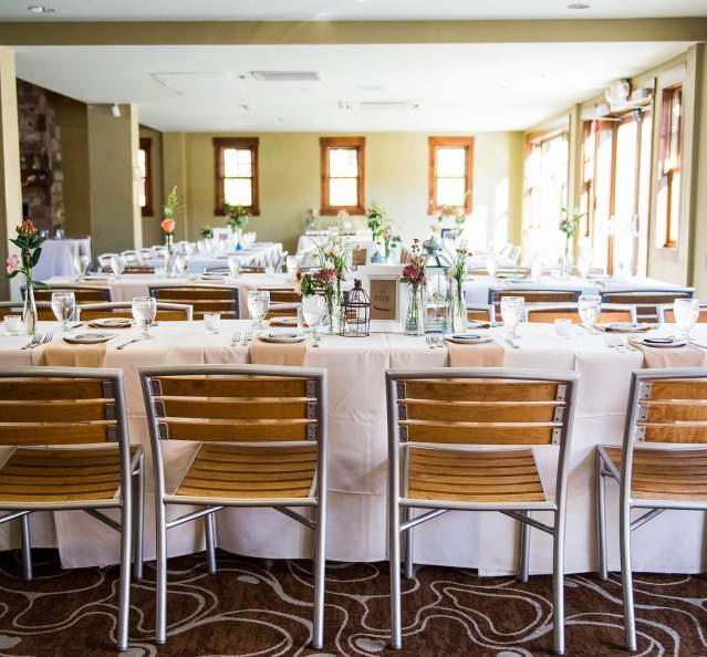 Wedding reception at Granby Ranch