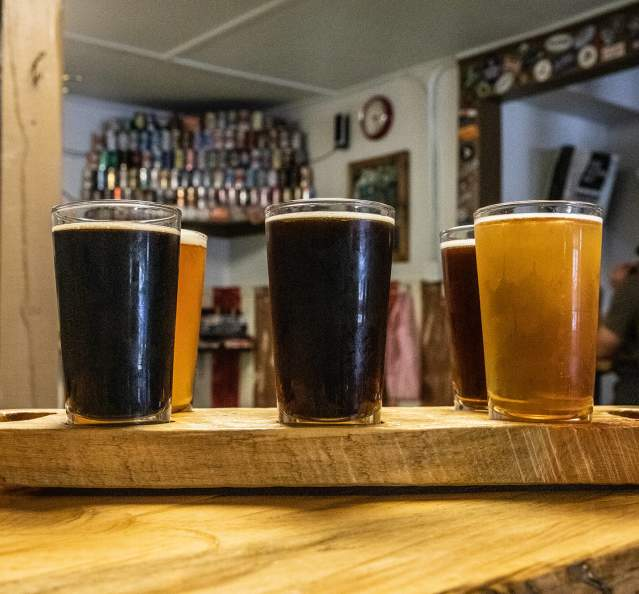 Beer at Never Summer Brewing Co