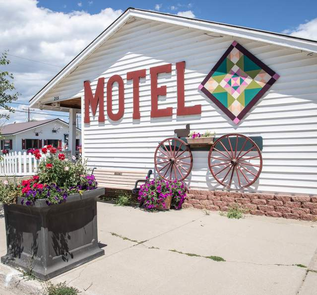 Motel in downtown Granby
