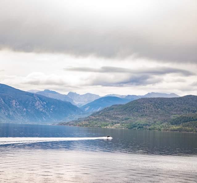 Boating on Lake Granby