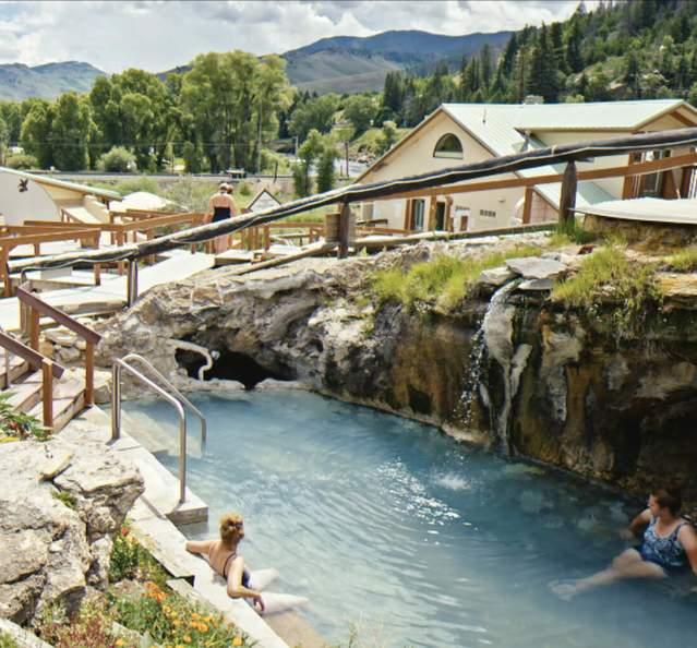Hot springs at Hot Sulphur Springs Resort & Spa