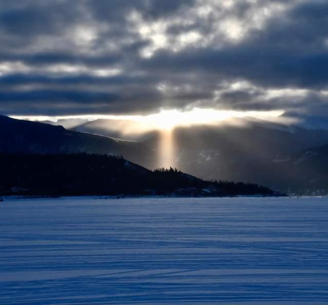 Sunrise over Lake Granby