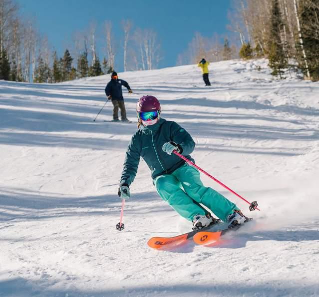 Skiing at Granby Ranch