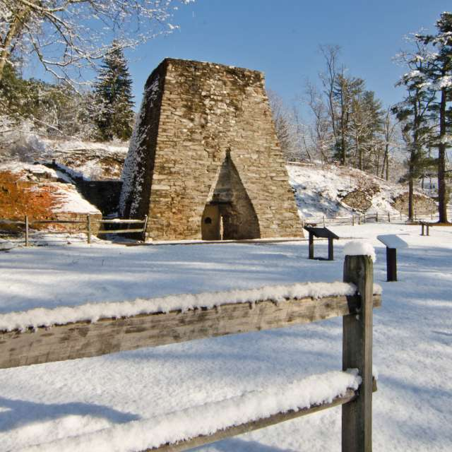 Pine Grove Furnace In Cumberland Valley