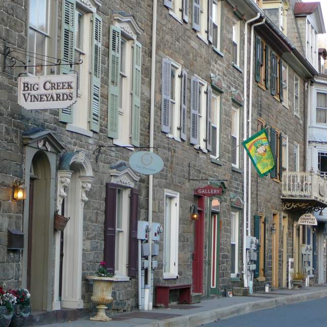 Visit Downtown Jim Thorpe in the Pocono Mountains