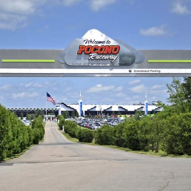 Gear-up for NASCAR at Pocono Raceway in the Poconos