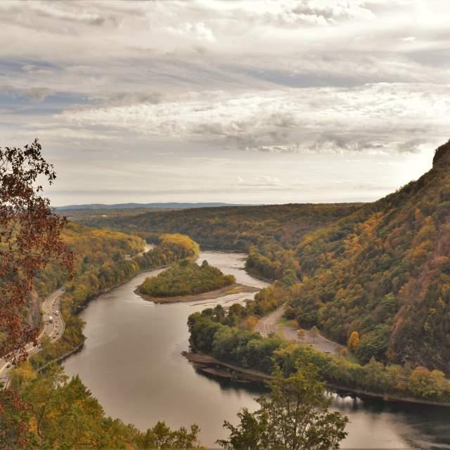 Scenic Views of the Pocono Mountains