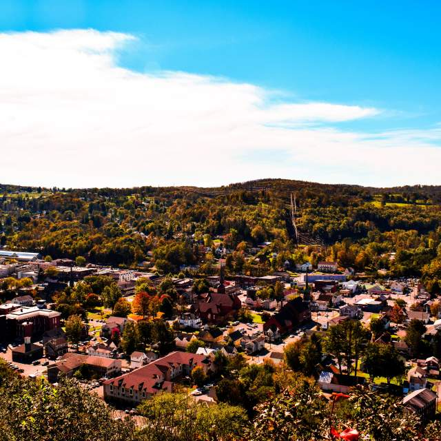 Autumn views in the Poconos