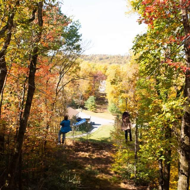 Zip Through the Poconos Foliage
