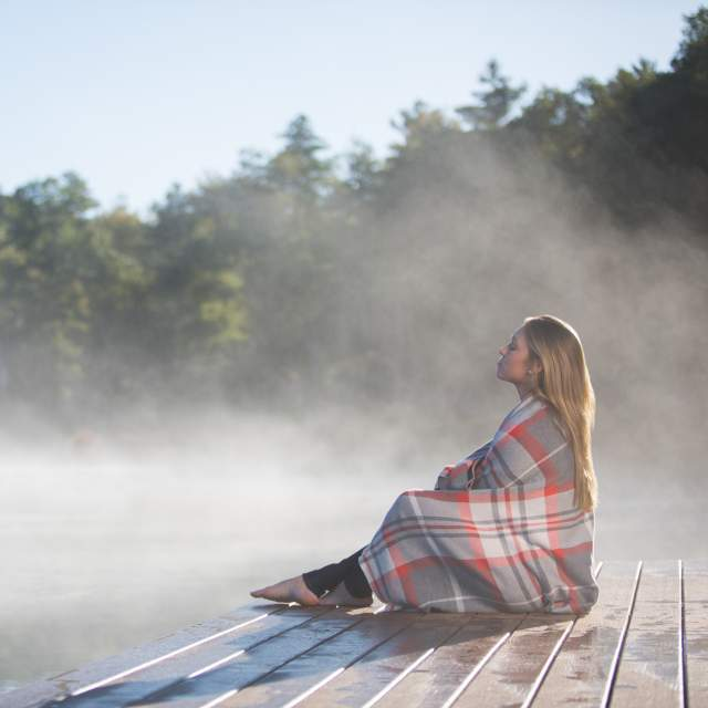 Take in the fresh air of the Poconos