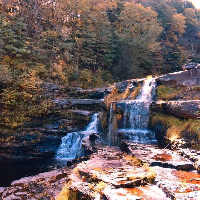 Pocono Fall Waterfalls