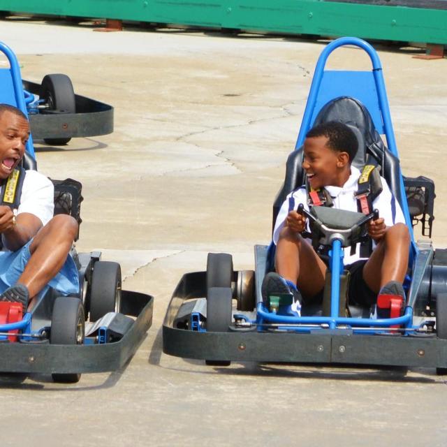 Fun Spot Orlando Commander Track go kart ride