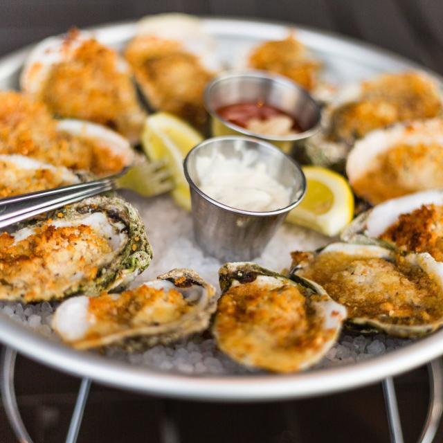 Reel Fish Coastal Kitchen + Bar oysters