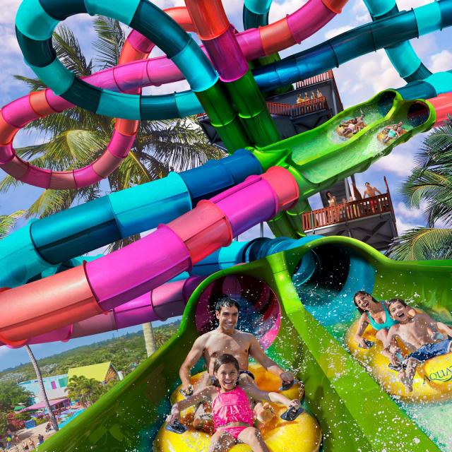 Riptide Race, Aquatica® Orlando's first-ever dueling waterslide