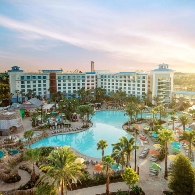 Loews Sapphire Falls Resort at Universal Orlando™ resort overview