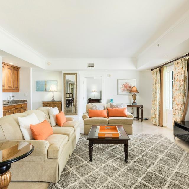 Reunion Resort Villa living room
